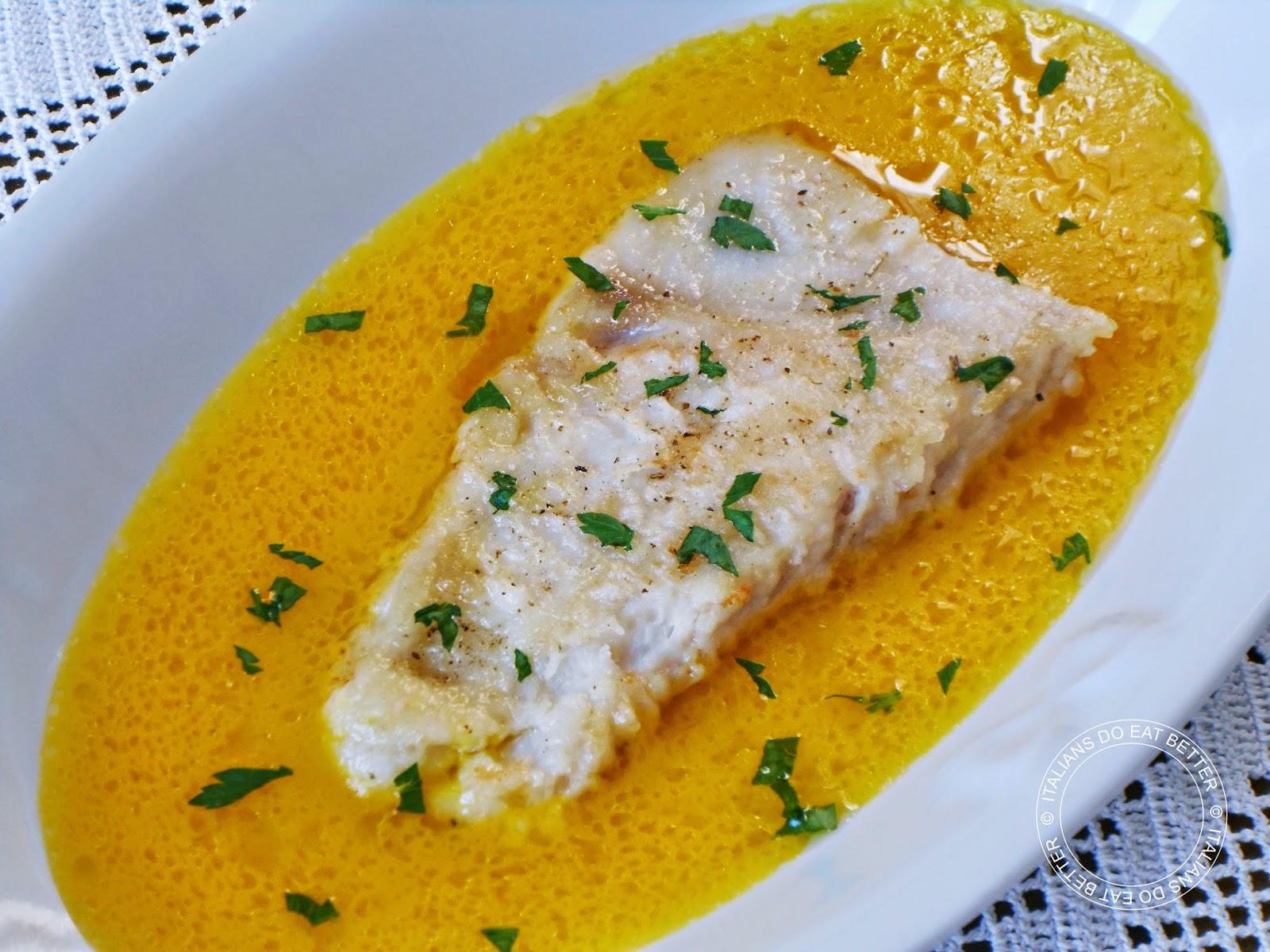 Filetti Di Pesce Persico Con Salsa Allo Zafferano Italians Do Eat