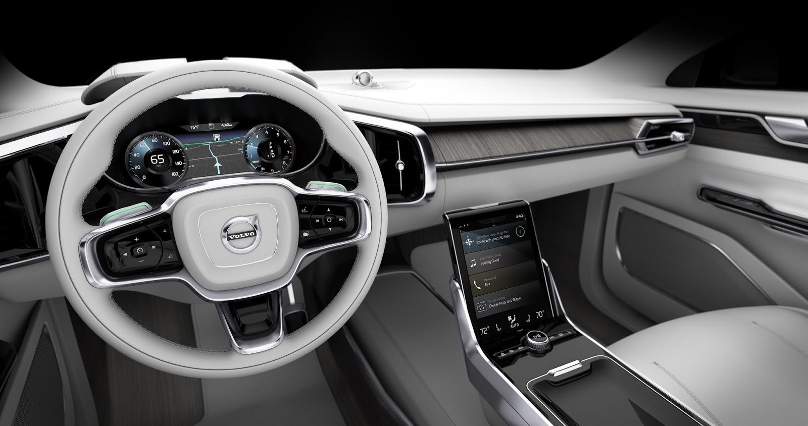 169539 Concept 26 Η Volvo θα κάνει και την αυτόνομη οδήγηση διασκεδαστική Autonomous Driving, Volvo, Volvo XC90, Αυτόνομη οδήγηση