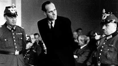 Von Moltke tijdens zijn proces
