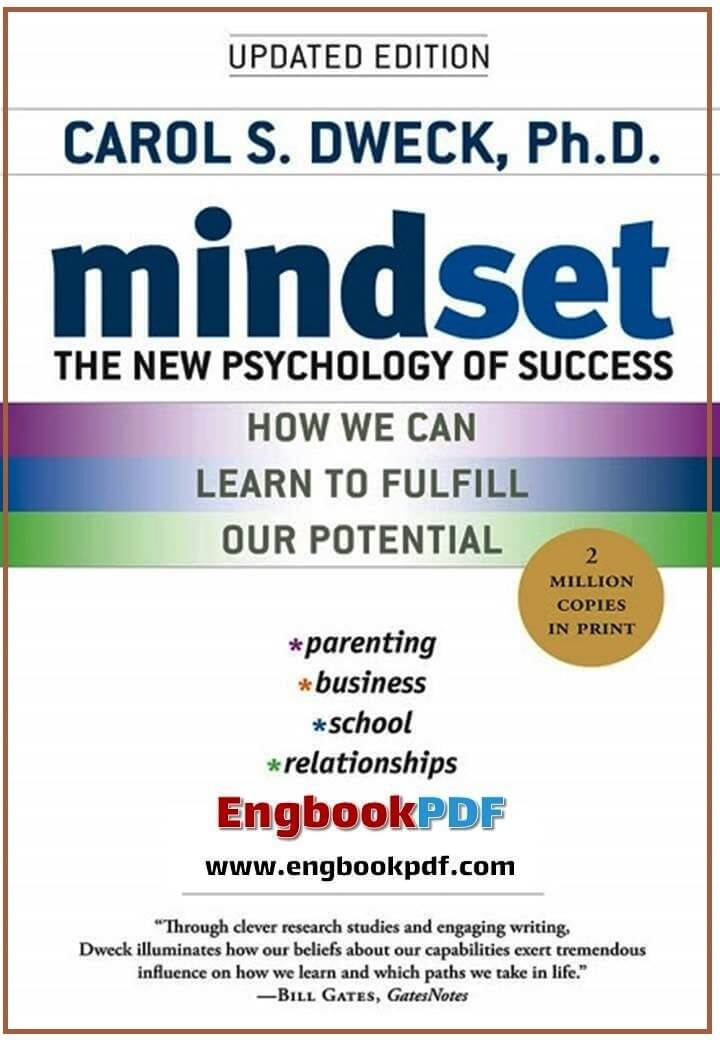 Mindset The New Psychology Of Success Pdf Engbookpdf Free Books Download Free Pdf Books