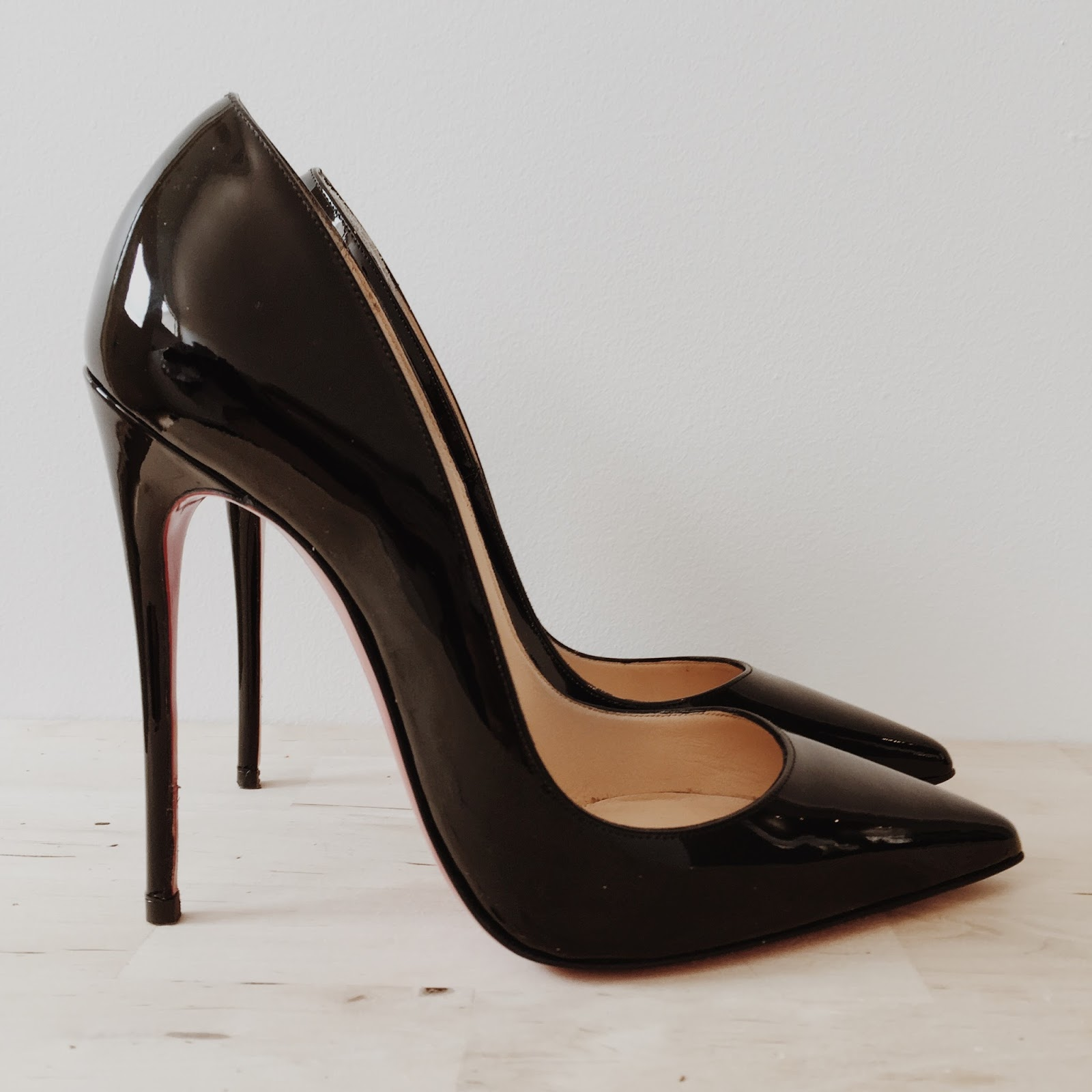 new style a5985 dacda J.N.: Review - Christian Louboutin So Kate 120mm Black Patent