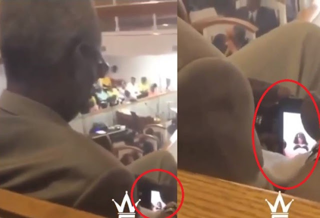 Man Caught Watching Sexually Explicit Video During Church Service