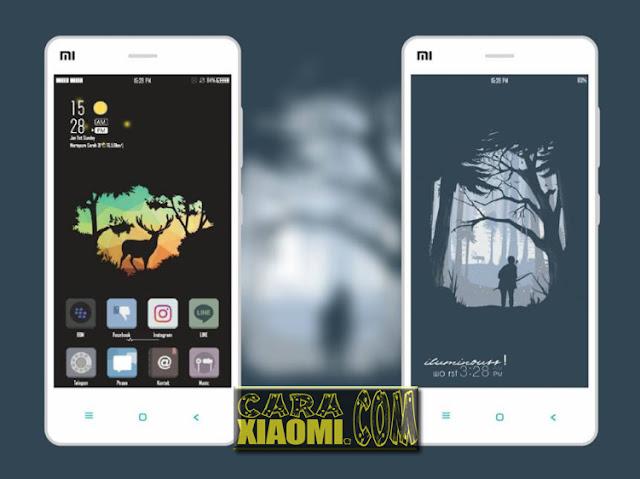 MIUI Theme The Deer Update Version For Xiaomi [Tembus ke Whatsapp dan Instagram]