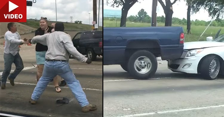 Hwy 55 Near Me >> Crazy Texas Road Rage Incident Has It All, From Punching A Woman To Purposely Crashing Car