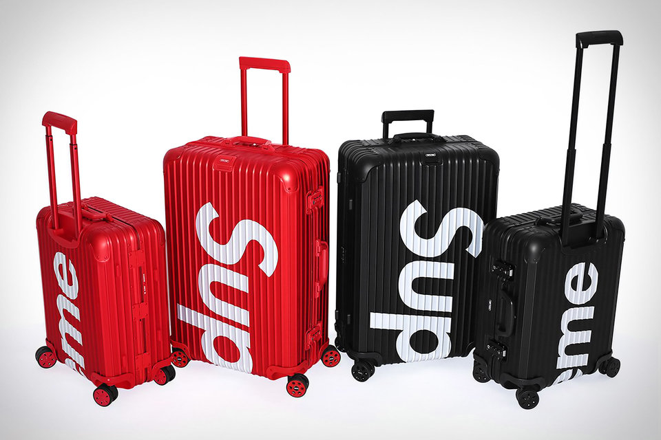 RIMOWA x SUPREME Topas Luggages are on FIRE!!!