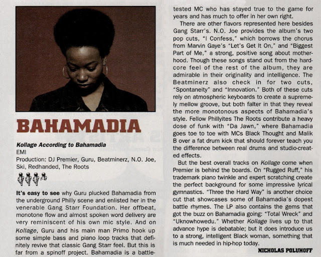 Bahamadia The Source Album Review Kollage