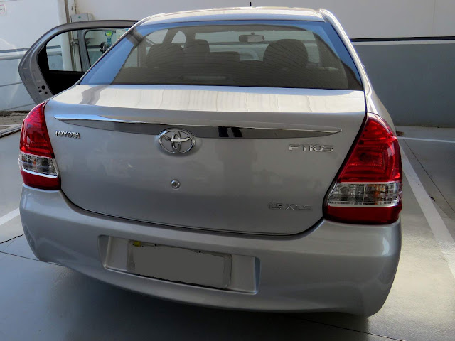 Toyota Etios 2017 Automático - impressões ao dirigir