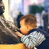 LOL : Most Viral pictues Baby mistakes a bare-breasted statue for his mother