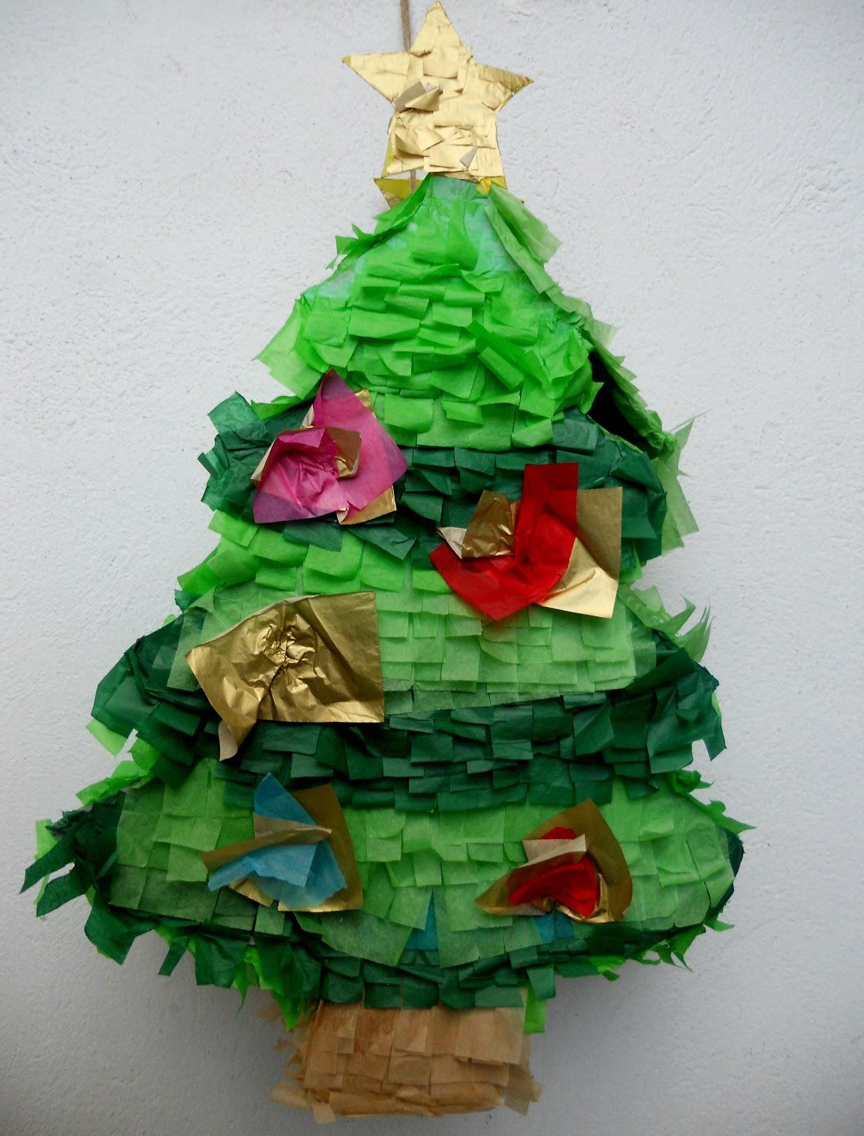 Piñatas que Ilusionan  Y se acabó la Navidad...Piñata Arbol de Navidad bf7fcaf606b