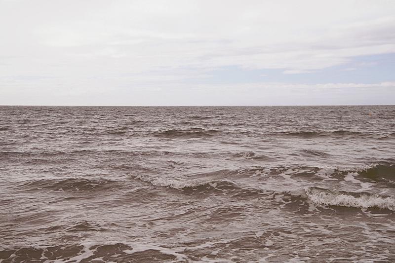 Ausblick aufs offene Meer (Nordsee von Amrum aus)