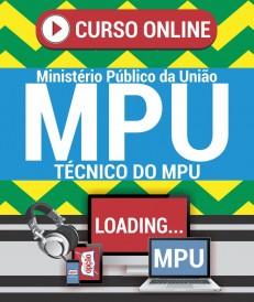 Videoaulas Técnico do MPU espec. Administração - Curso online