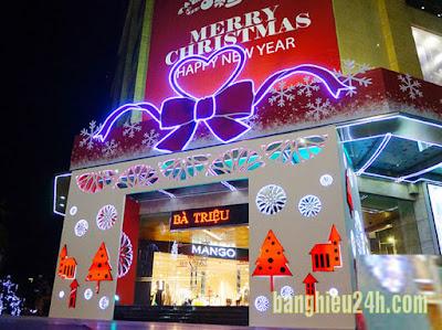 Thiết kế thi công cổng chào Tết Năm Mới - Noel Giáng Sinh