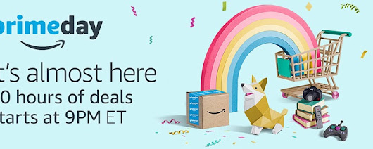Amazon Prime Day STARTS TONIGHT - PLUS $100.00 Credit Towards Diapers & Wipes!