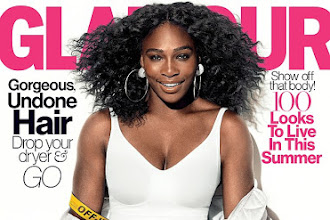 Cover girl: Serena Williams Sizzles on the cover of Glamour Magazine