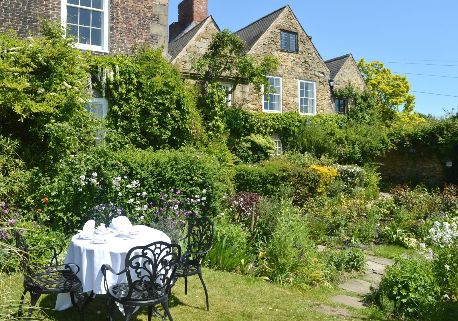 Crook Hall and Gardens, Durham - Afternoon Tea Garden