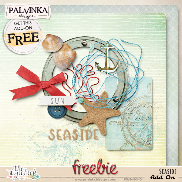 NEW Seaside Collection by Palvinka Designs and freebie