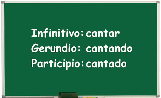 infinitivo participio y gerundio