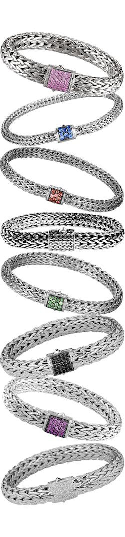 John Hardy Bracelets Assorted