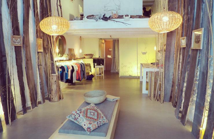 Ninn Apouladaki  la boutique Marseille