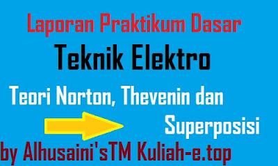 Laporan praktek dte konsep fasor daya listrik dan perbaikan faktor laporan praktikum dasar teknik elektro teori thevenin norton dan superposisi ccuart Images