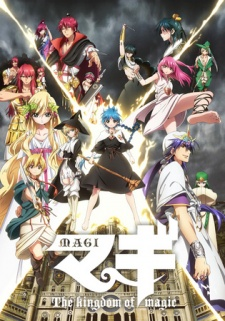 Magi: The Kingdom of Magic - Episódios
