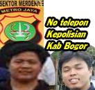 No Telepon Polisi Bogor Cileungsi