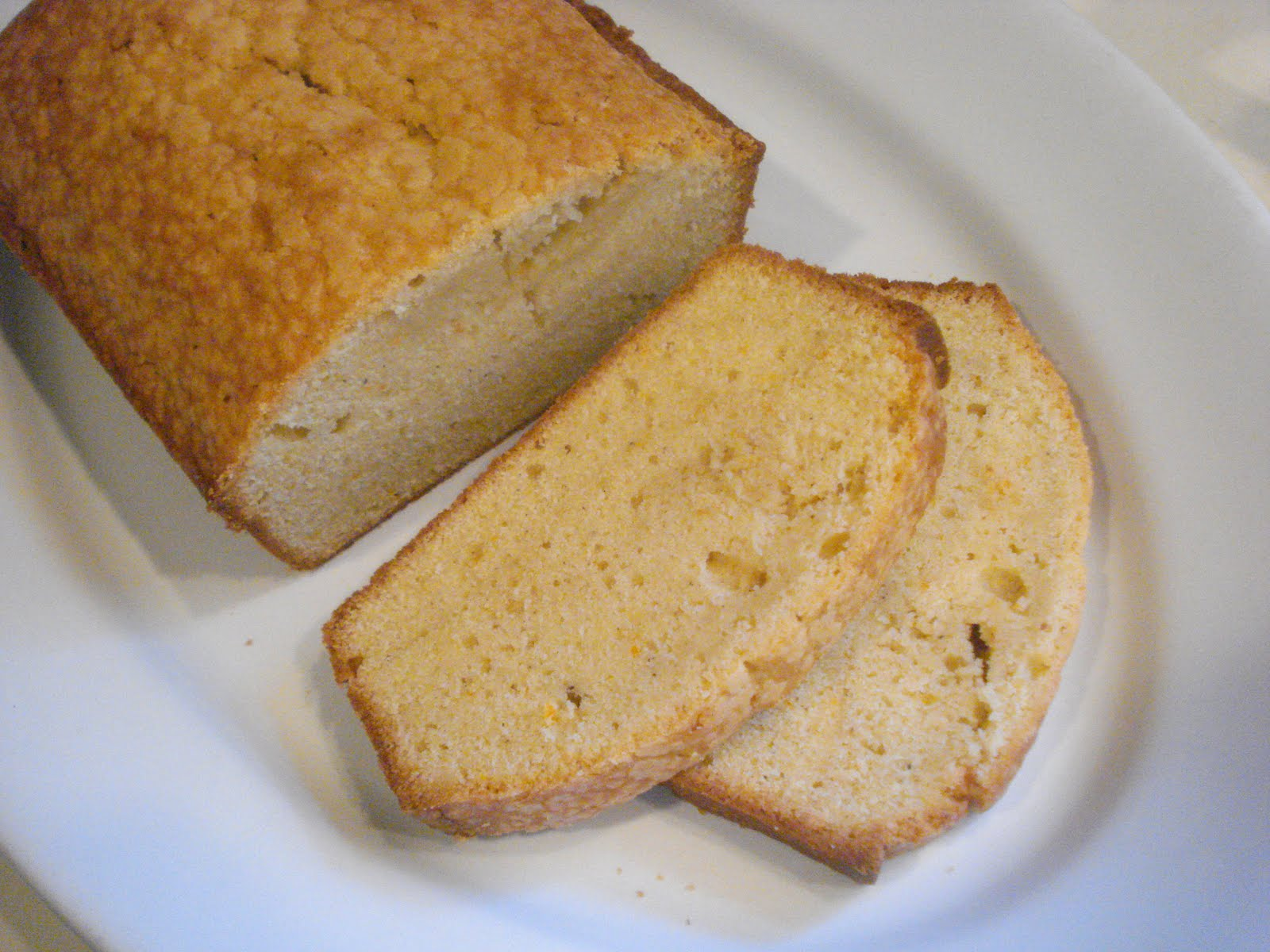 The Cookie Scoop Orange Cardamom Pound Cake