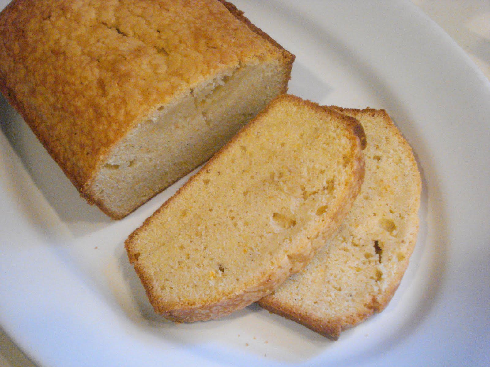 The Cookie Scoop Orange Cardamom Pound Cake