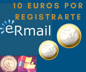 gana 10 euros por tu registro en eRmail PTC