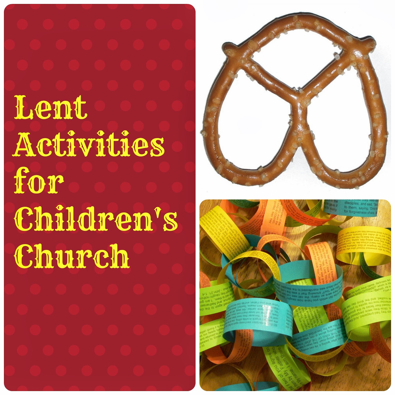 This Patchwork Life Children S Church Lent