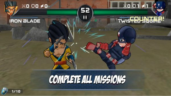 Superheros 3 Fighting Games Apk Premium