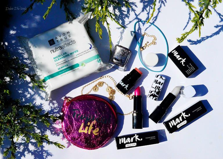 Kolorowe, makijażowe NOWOŚCI Avon oraz KONKURS!!! Zgarnij zestaw kosmetyków do makijażu!