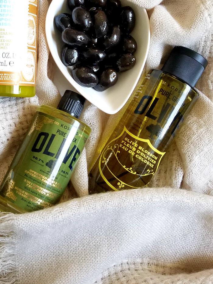 KORRES - Neuheiten der Pure Greek Olive & Instagram Gewinnspiel - 3in1 Nourishing Oil & Olive Blossom Eau de Cologne