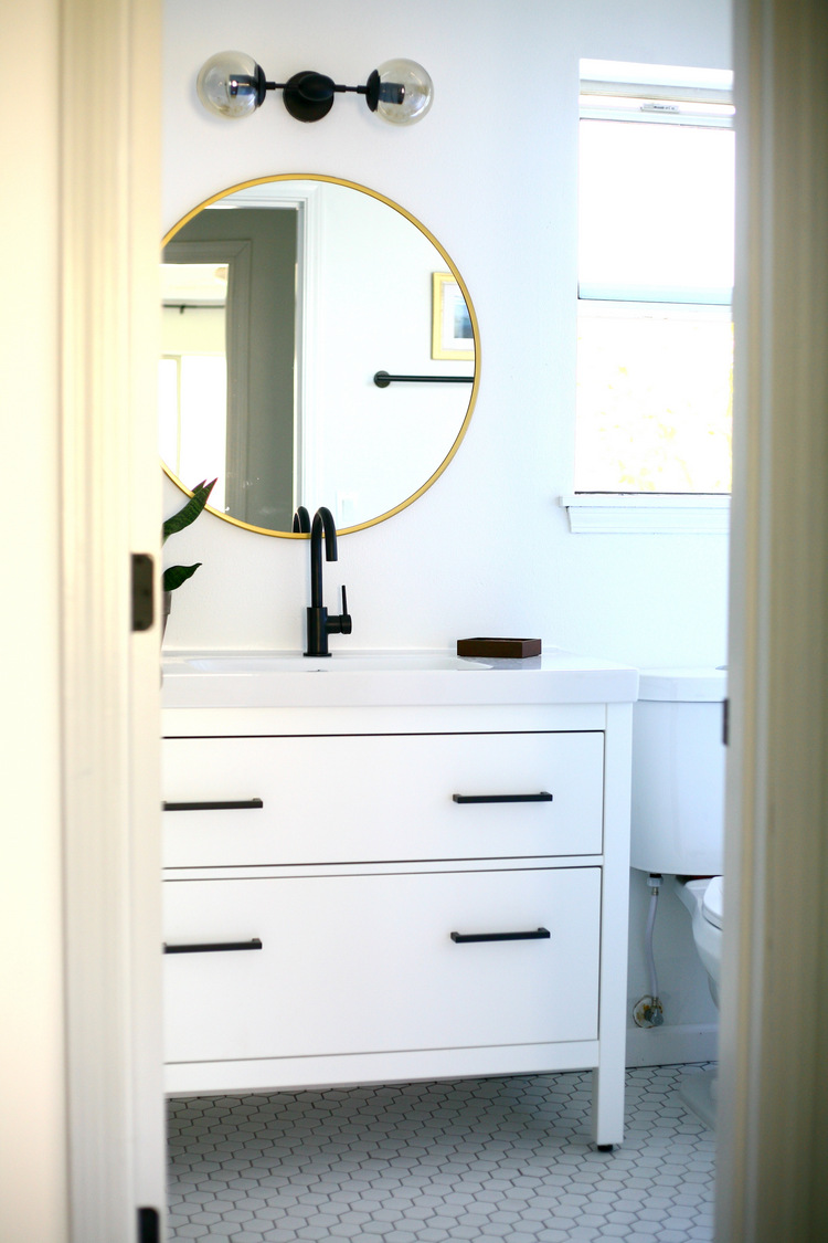 What An Improvement From The Beady Eyed Out Of The Box Hemnes Sink Cabinet!