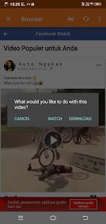 Cara Menyimpan Video dari Facebook ke Galeri di HP Tanpa Aplikasi dan Menggunakan Aplikasi 2 Cara Menyimpan Video Facebook Ke Galeri HP dan PC