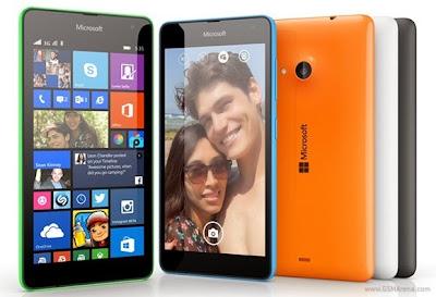 Lumia 535, Smartphone Pertama Microsoft Diluncurkan