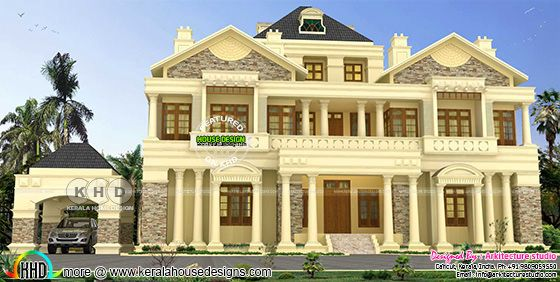 Luxury 7840 sq-ft 5 bedroom Colonial house