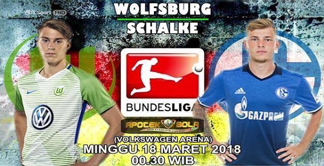 Prediksi Wolfsburg vs Schalke 04 18 Maret 2018