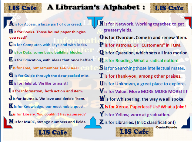 Librarian's Alphabet: LIS Cafe-Asheesh Kamal