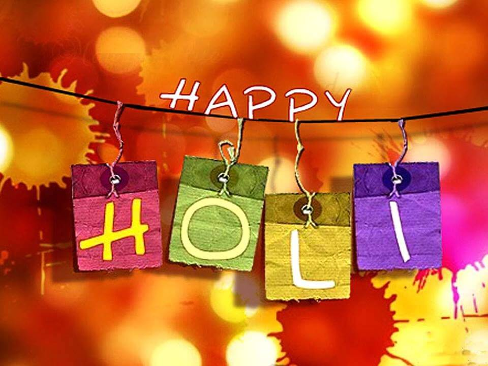 Happy Holi HD Wallpapers for Desktop