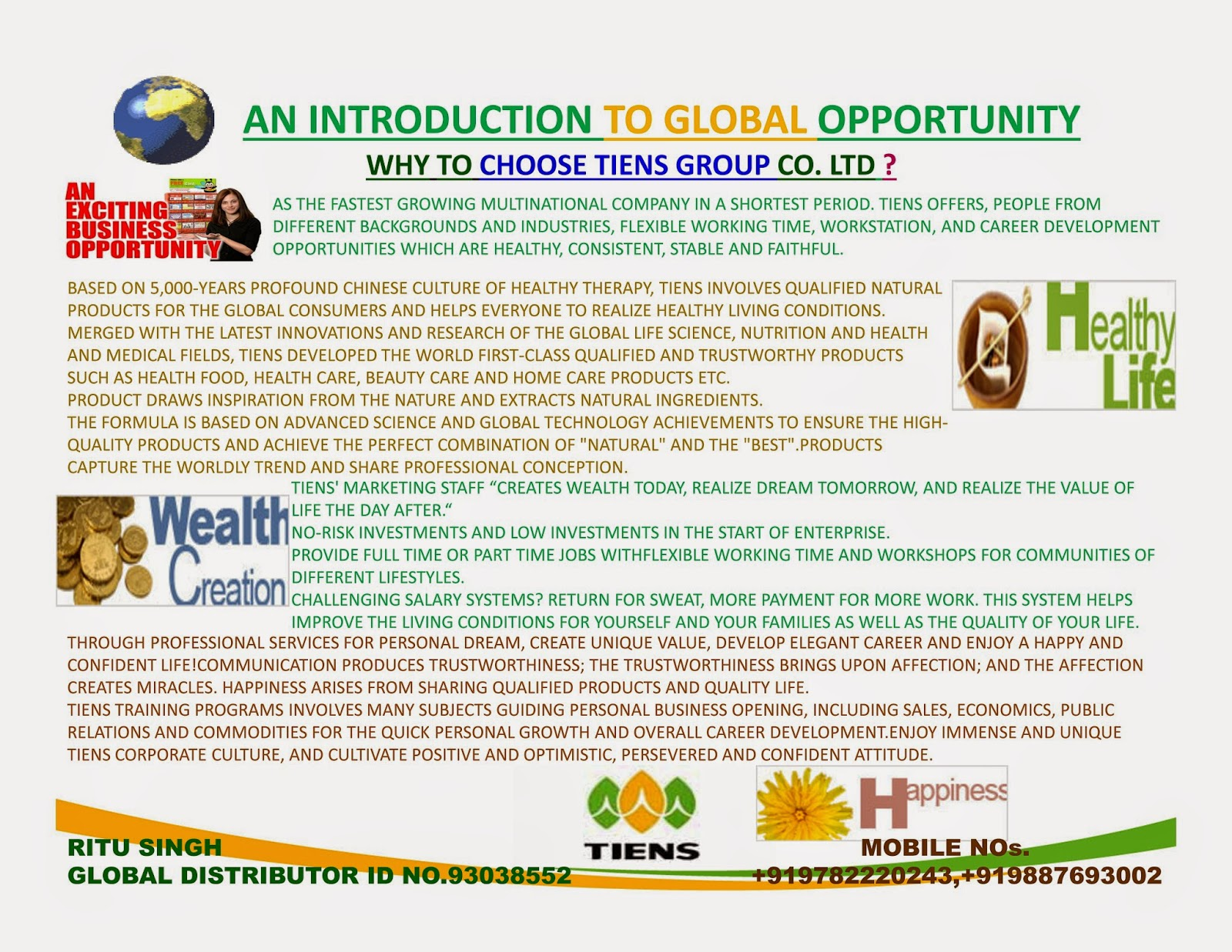 BEST BUSINESS,AWARENESS PROGRAMME,BY TIENS GROUP,WORLD