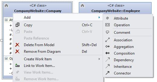 Generate UML class diagram from code files in Visual ...