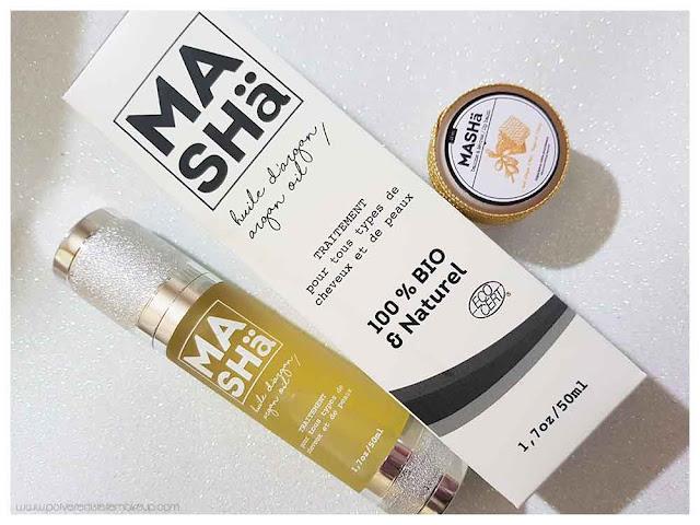 MASHä Cosmetics olio di argan prodotti