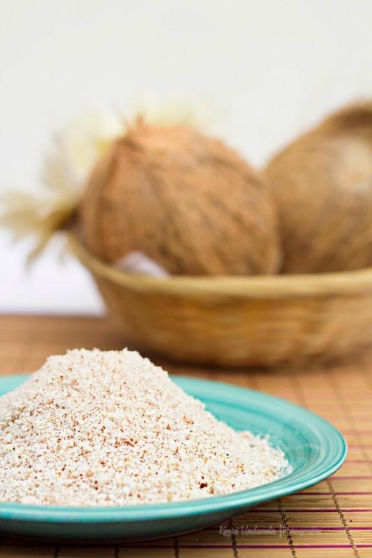 como hacer harina de coco casera