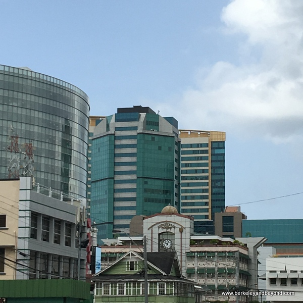 Port of Spain cityscape in Trinidad