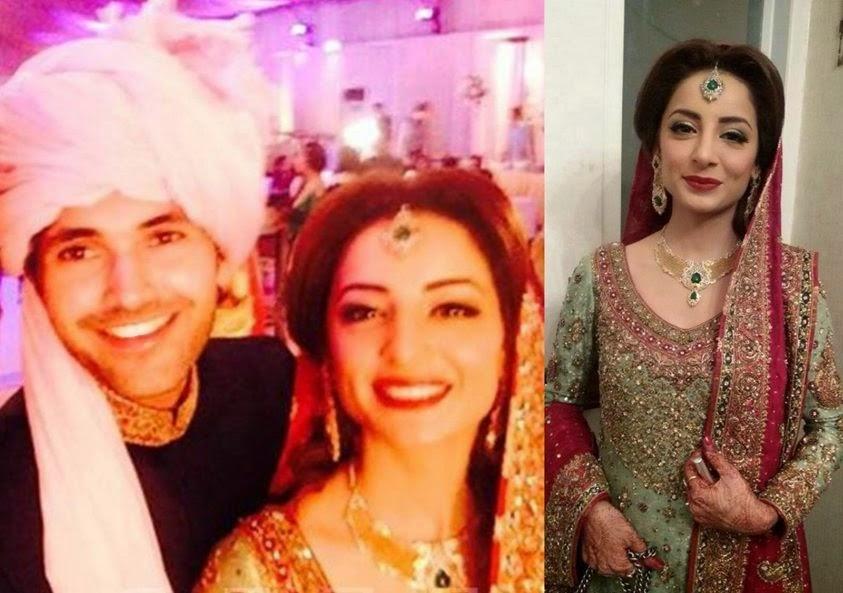 Humayoun Saeed Fahad Mustafa Amina Shiekh Momal Ahsan Khan And Many More She Is Looking Gorgeous On Her Wedding Day Just Have A Look