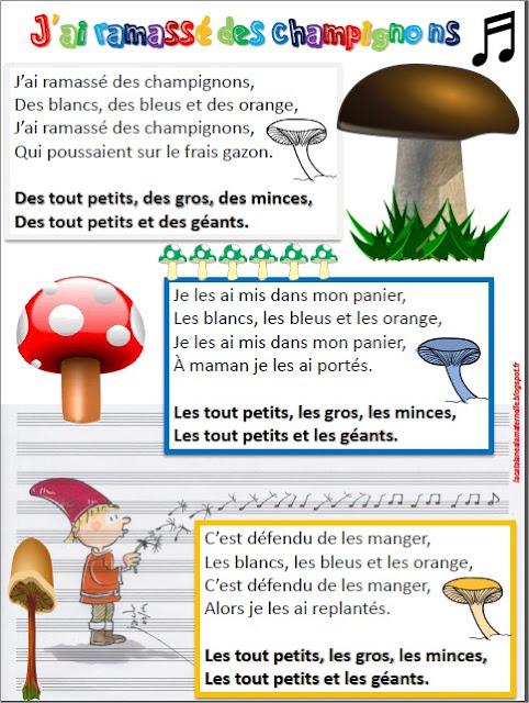 J'ai ramassé des champignons (version LaCatalane)