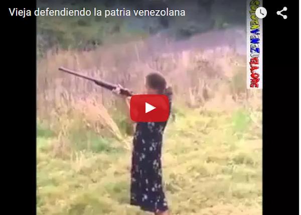 Mujeres se preparan para conflicto bélico en Venezuela