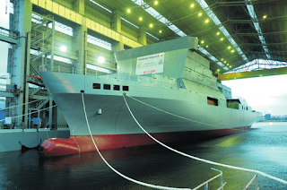 VC 11184: HSL to Undertake Sea Trials of India's First Ocean Surveillance Ship