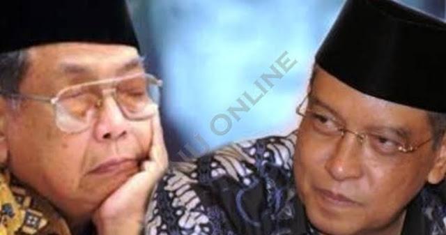 Gusdur ke Kiai Said : Saat Kepemimpinan Sampeyan, NU Akan Mengalami Badai Fitnah, Tapi NU akan Tetap Jaya